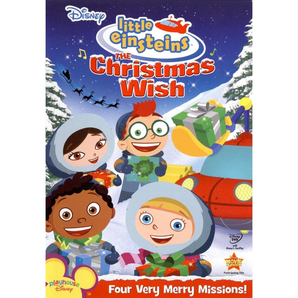 Little Einsteins The Christmas Wish (P&S) (dvd_video