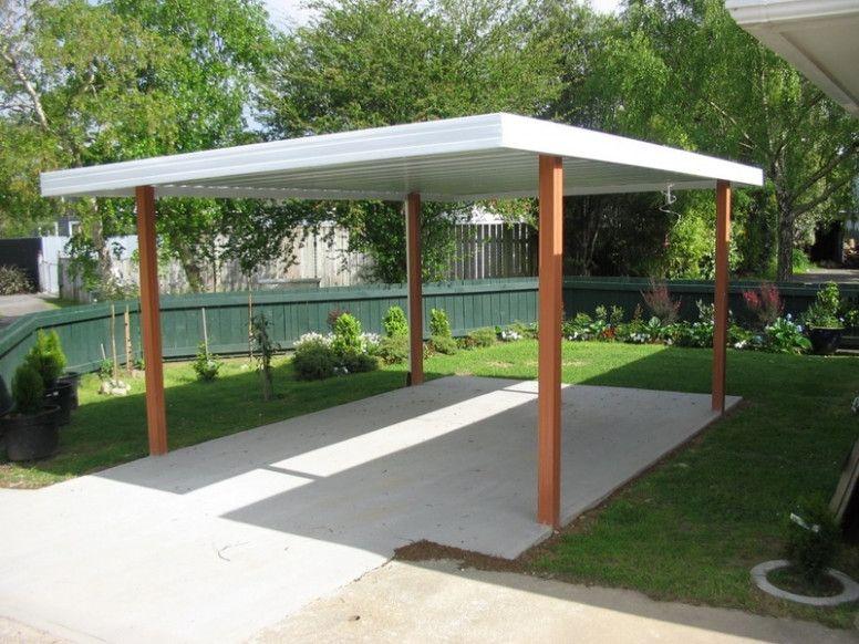 4 Perfect Flat Roof Metal Carport di 2020