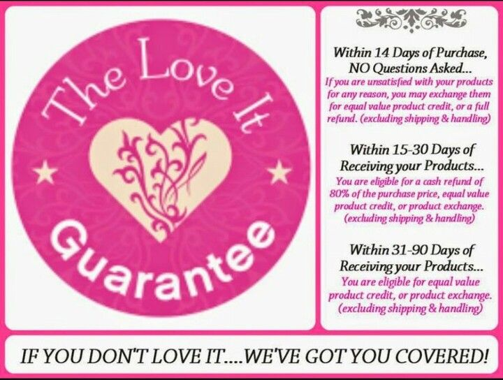 Lets not forget the love it guarantee! If your not satisfied if you don't love the product than we have got you covered! There is nothing to lose here! So what are you wating for? Place your order I know you'll love the product! :)   http://www.youniqueproducts.com/WhitneyMD