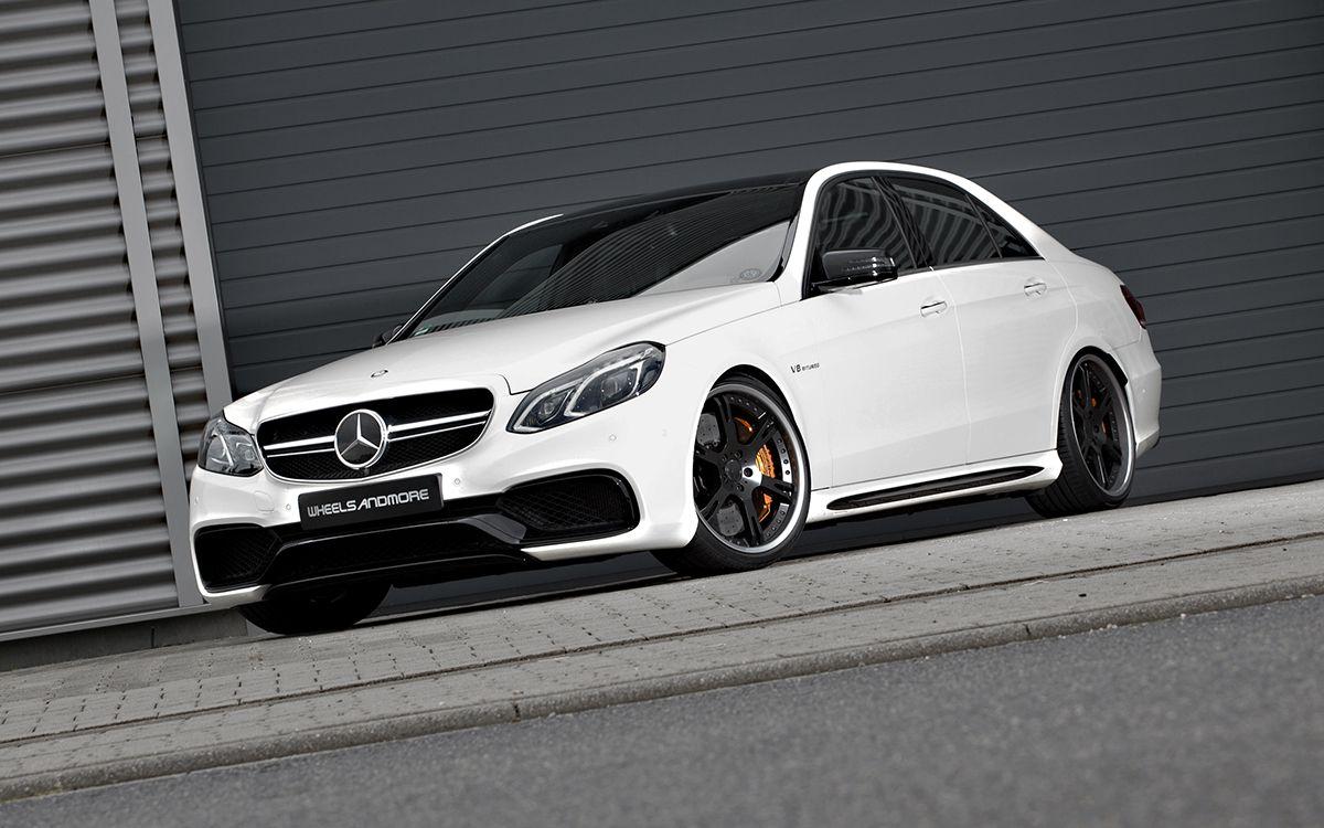 "WheelsandMore Updates the Mercedes-Benz E63 AMG ""Seven-11"""
