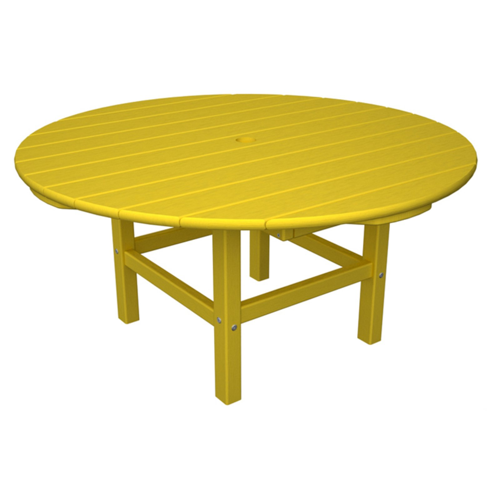 Outdoor Polywooda Classic Recycled Plastic Conversation Table