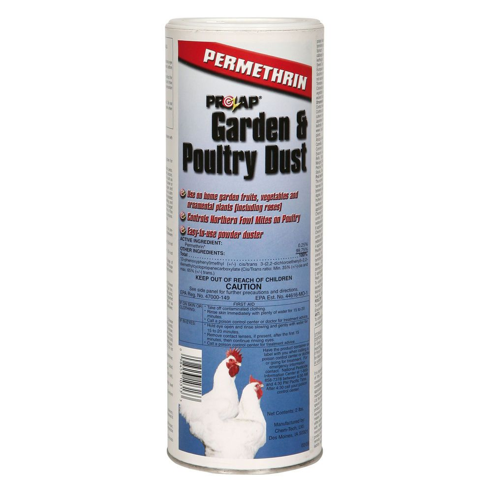 Poultry Dust 2 Permethrin 4 Insect Pests Mites Chicken Poultry Insect Pest Backyard Poultry