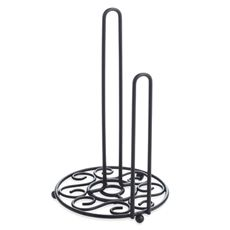 Bed Bath And Beyond Paper Towel Holder Interesting Black Paper Towel Holder  Bed Bath & Beyond  Home Kitchen Inspiration