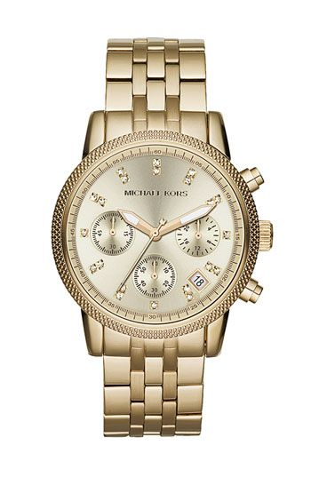 23884a219b88 Michael Kors  The Ritz  Chronograph Bracelet Watch