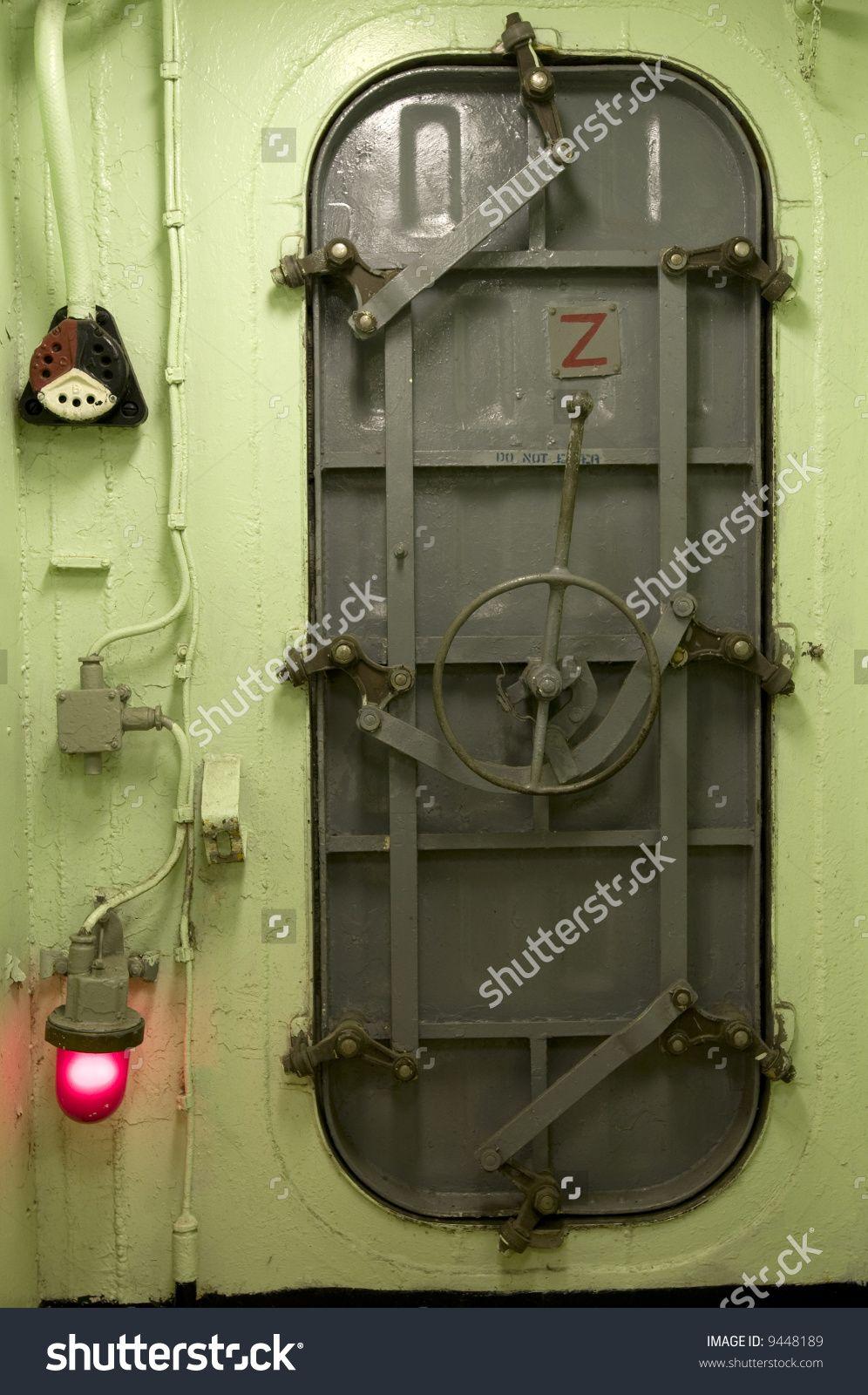 Submarine Door Google Search Vbs Industrial Interior