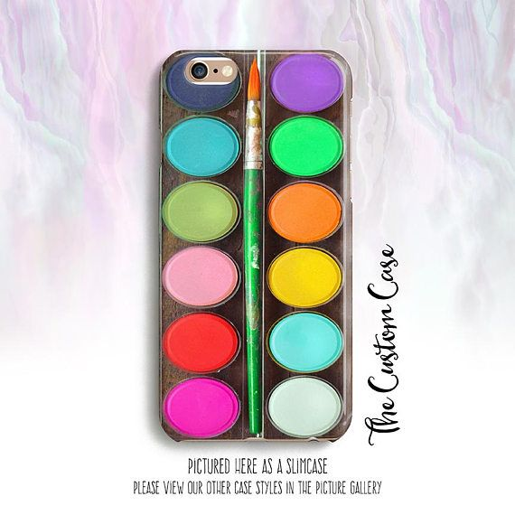 2b210e18e967 Artist's Palette Phone Case Rainbow Watercolor Palette | phone case ...
