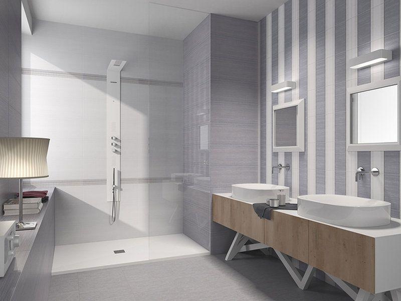 Azulejos para ba o blanco cocina pinterest - Bano azulejo blanco ...
