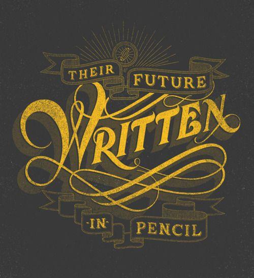 Drew Melton Typography