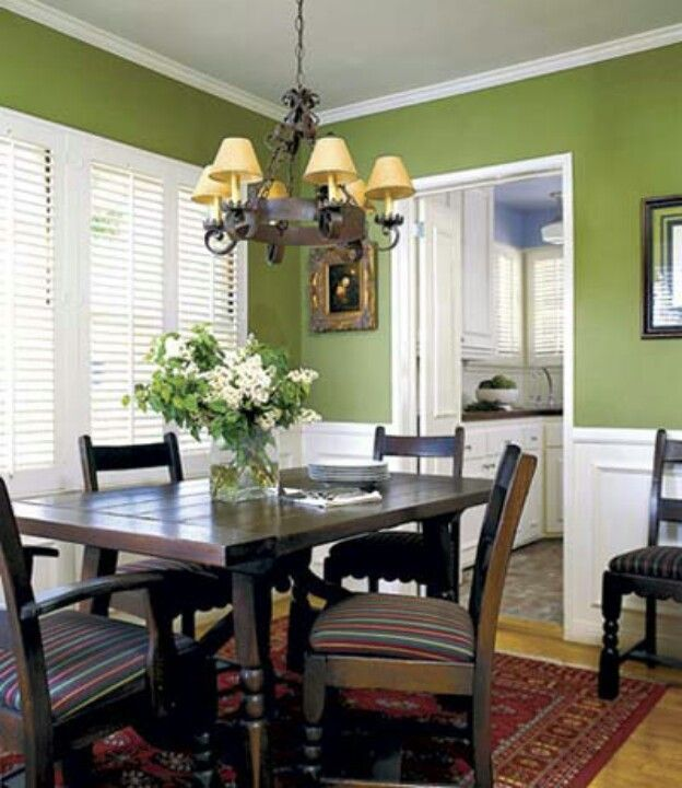 Green Dining Rooms: Green Dining Room, Dining
