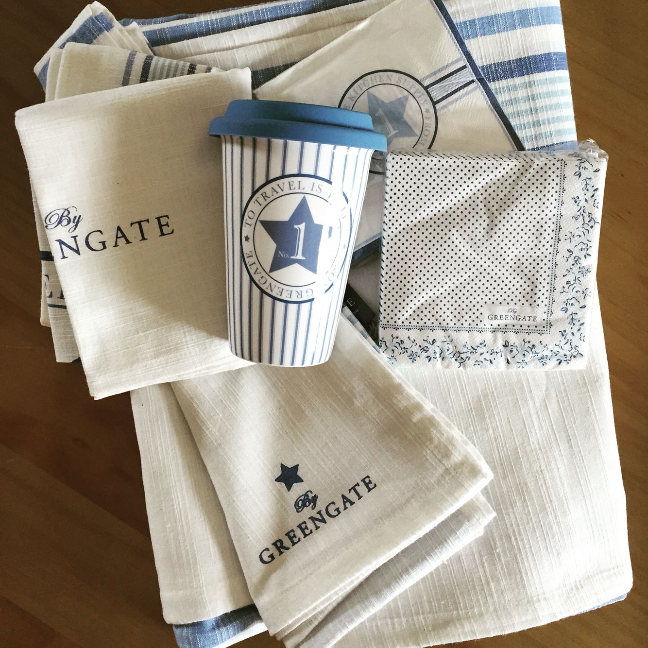 Greengate (nappe/mug/servittes/torchon)