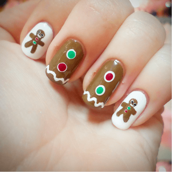 Glamorous Christmas Nail Art Ideas For 2017 Christmas