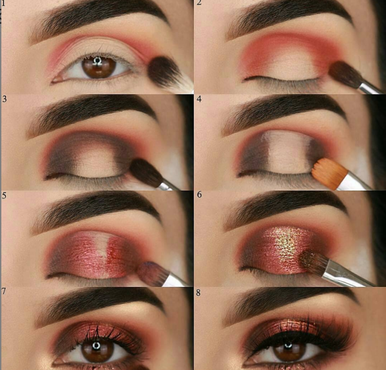 Photo of 60 Easy Eye Makeup Tutorial For Beginners Step By Step Ideas(Eyebrow& Eyeshadow) – Page 14 of 61 – Latest Fashion Trends For Woman