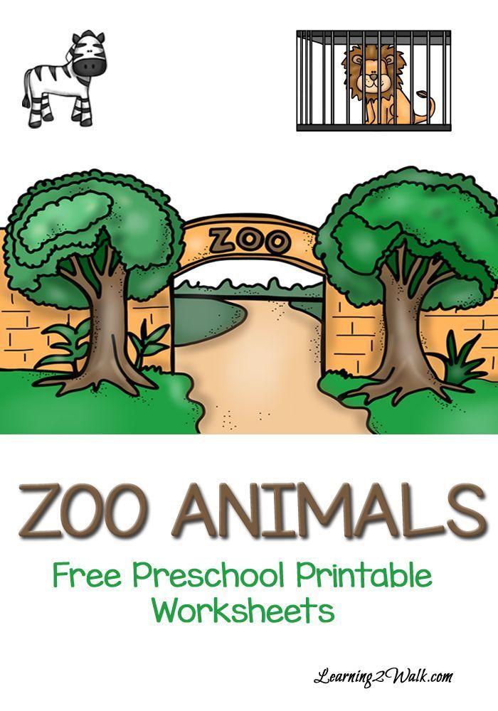 Free Printable Zoo Animals Worksheets Pre K Zoo Animals Preschool Zoo Preschool Preschool Zoo Theme Preschool zoo animal worksheets