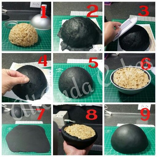 How To Make A Mickey Or Minnie Mouse Cap Out Of Rice