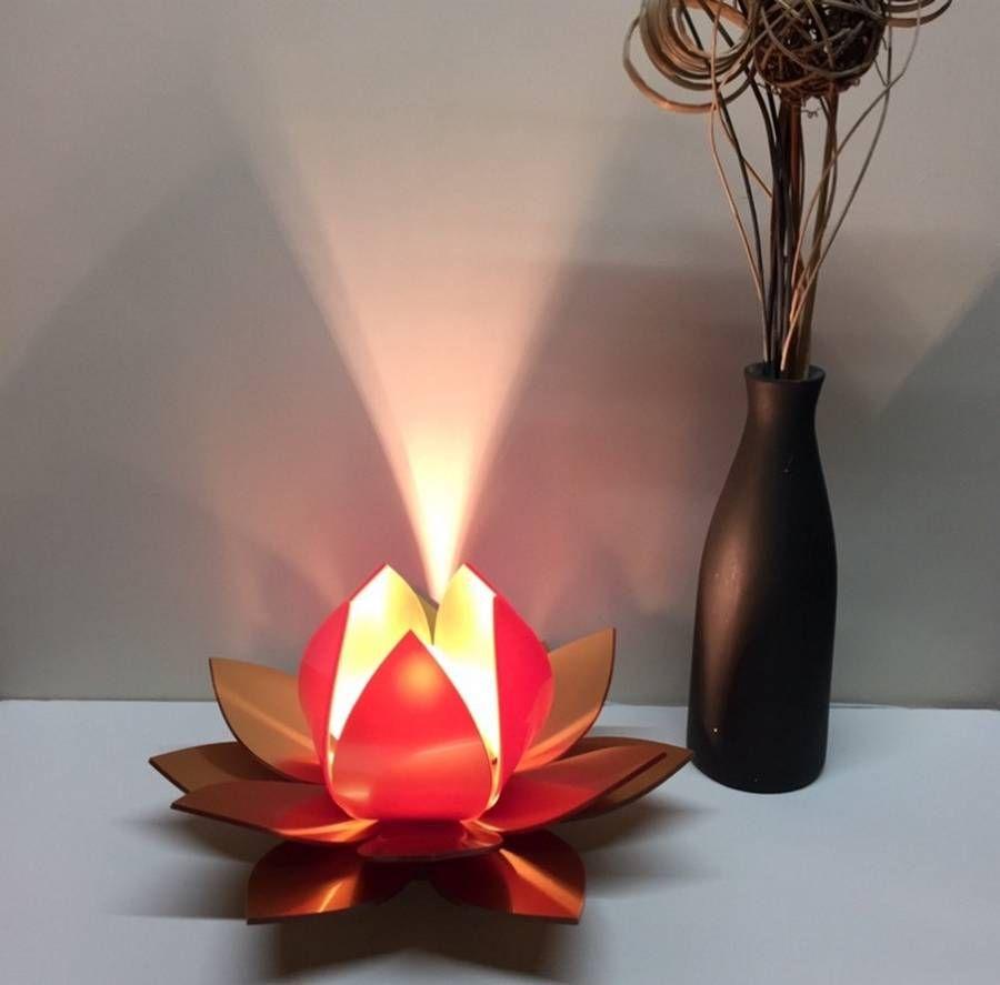 Lotus Flower Table Lamp Bedside Lamp