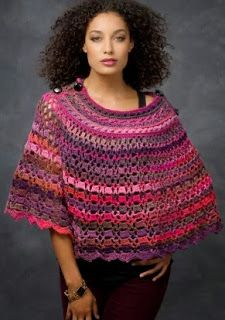 patron poncho lana