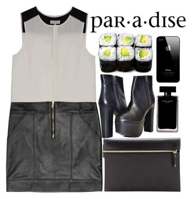 """par.a.dise"" by caagla ❤ liked on Polyvore featuring Cotton Candy, rag & bone, Versus, Victoria Beckham and Narciso Rodriguez"