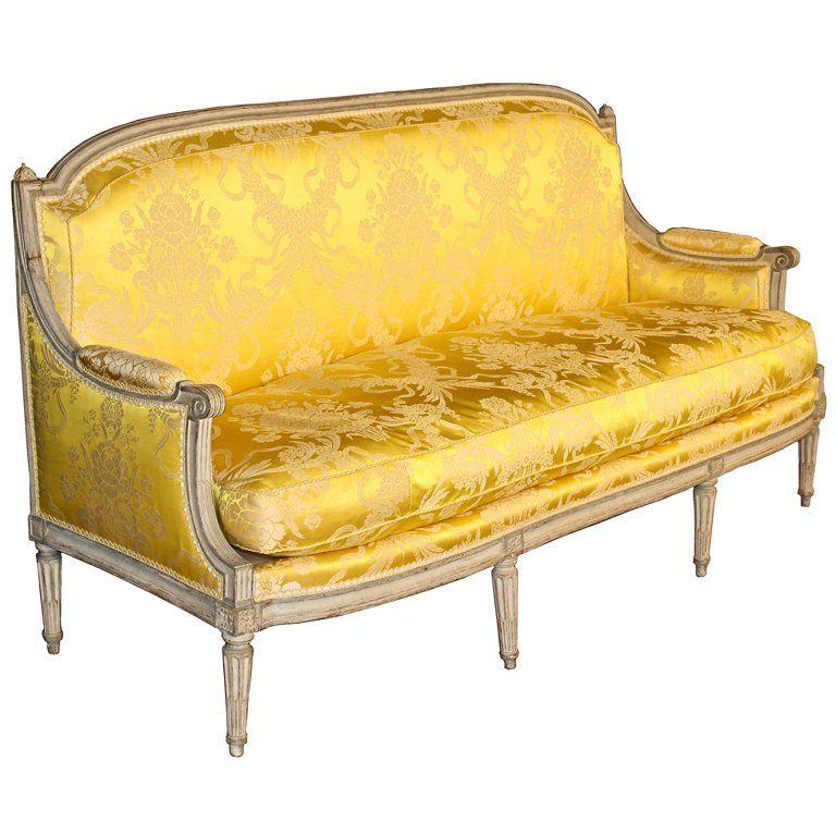 Louis Xvi Jean Baptiste Boulard Canape Canape Mobilier De Salon Mobilier