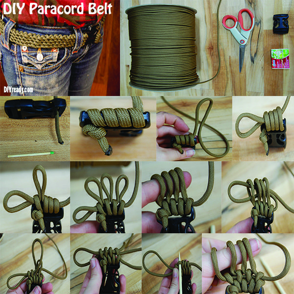 How to make a paracord belt paracord belt paracord ideas and diy paracord belt tutorial step by step instructions on how to make a paracord belt solutioingenieria Images