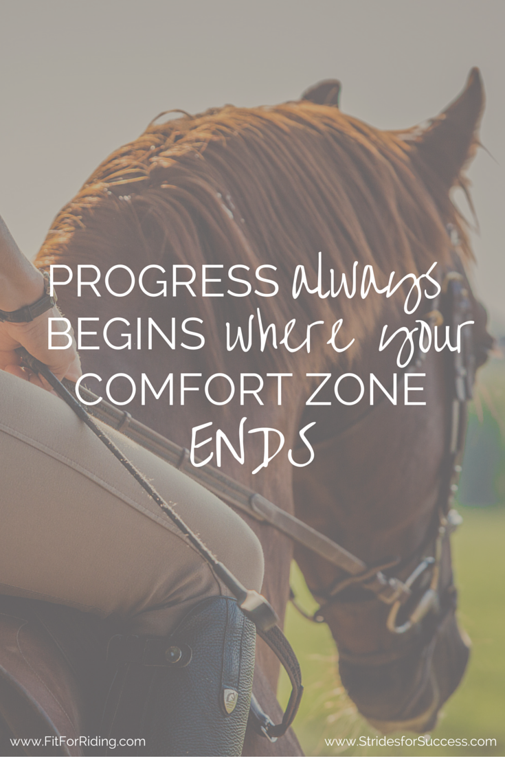 Just stick your toe out, day after day and soon your comfort zone will have expanded to a size you previously thought impossible...