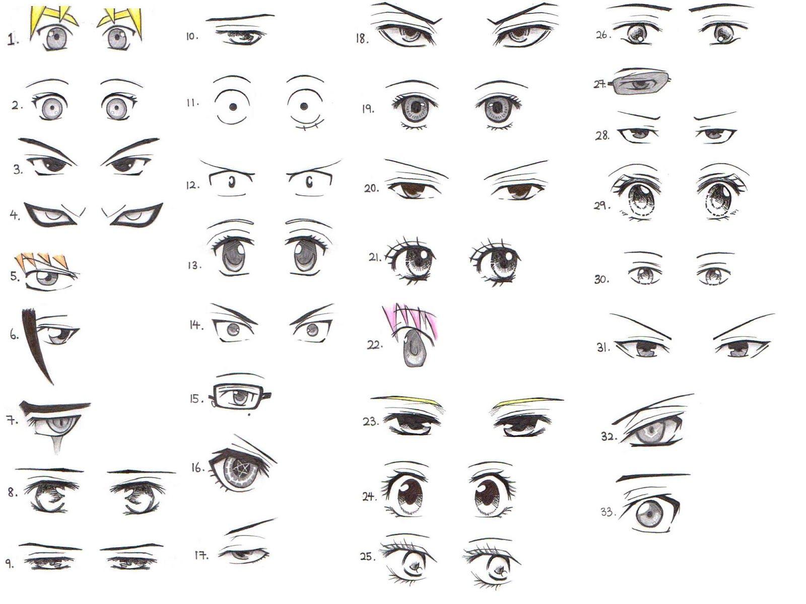 anime ojos hombre: Resultado De Imagen Para Ojos Anime Hombre