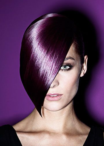 Wow Schwarzkopf Color Amazing Hair Violet Hair Hair