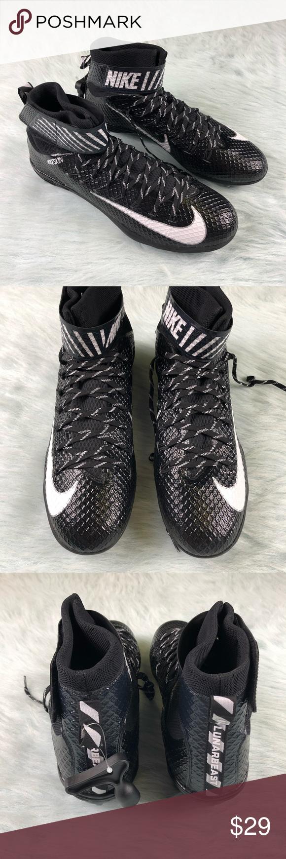 2e4cb0975cd5 Nike Lunarbeast Elite TD Football Cleats Men s 15 Men s size 15 Nike Force  Lunarbeast Elite TD Football cleats 847725-011. BRAND NEW.