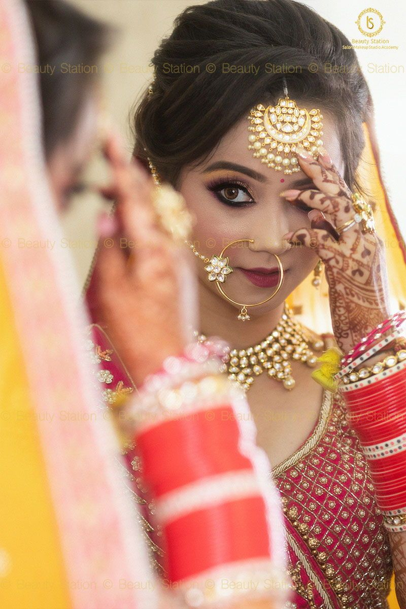 HD Airbrush Bridal Makeup in 2020 Indian bride outfits