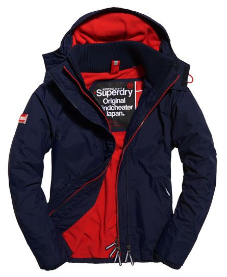 Superdry Pop Zip Arctic Windcheater-Kapuzenjacke