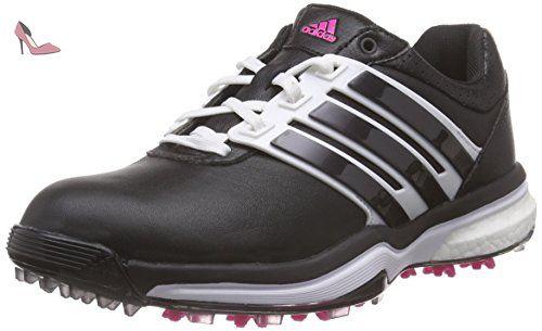 reputable site 9281a 94f23 adidas Adipower Boost 2, Chaussures de Golf Femme, Noir-Schwarz (Core Black