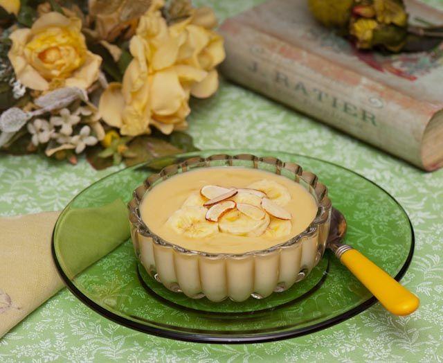 Hasil gambar untuk Banana honey pudding