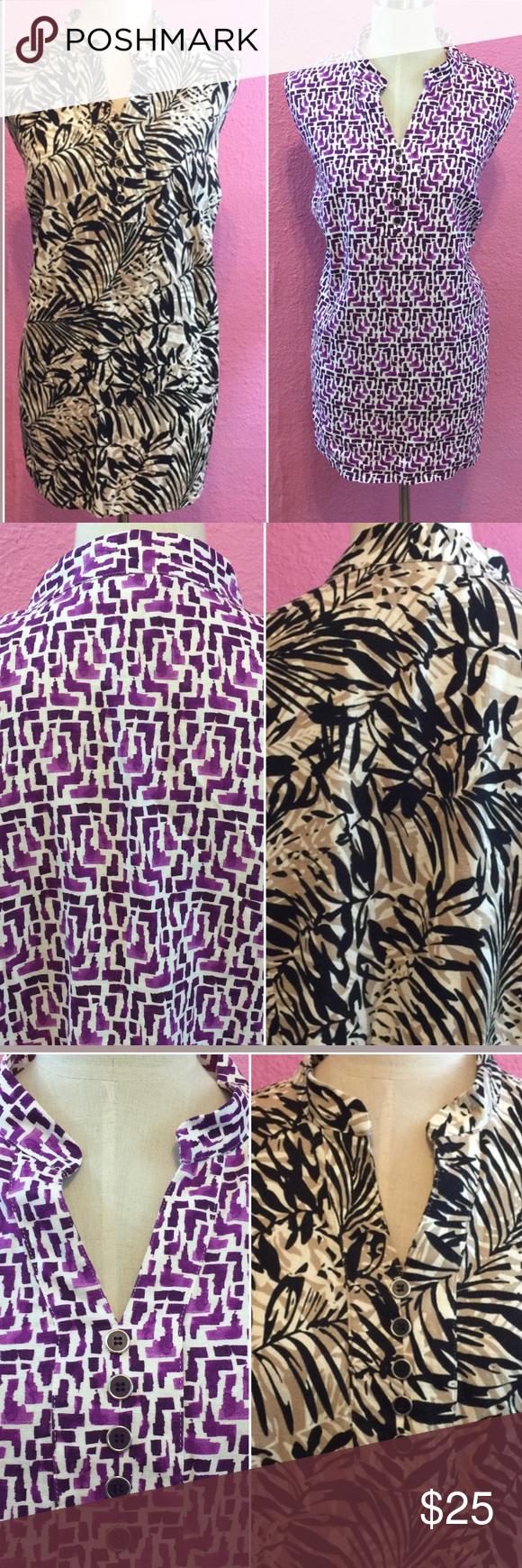 Plus size shirt bundle 2xl Plus size shirt bundle 2xl CJ Banks  Tops