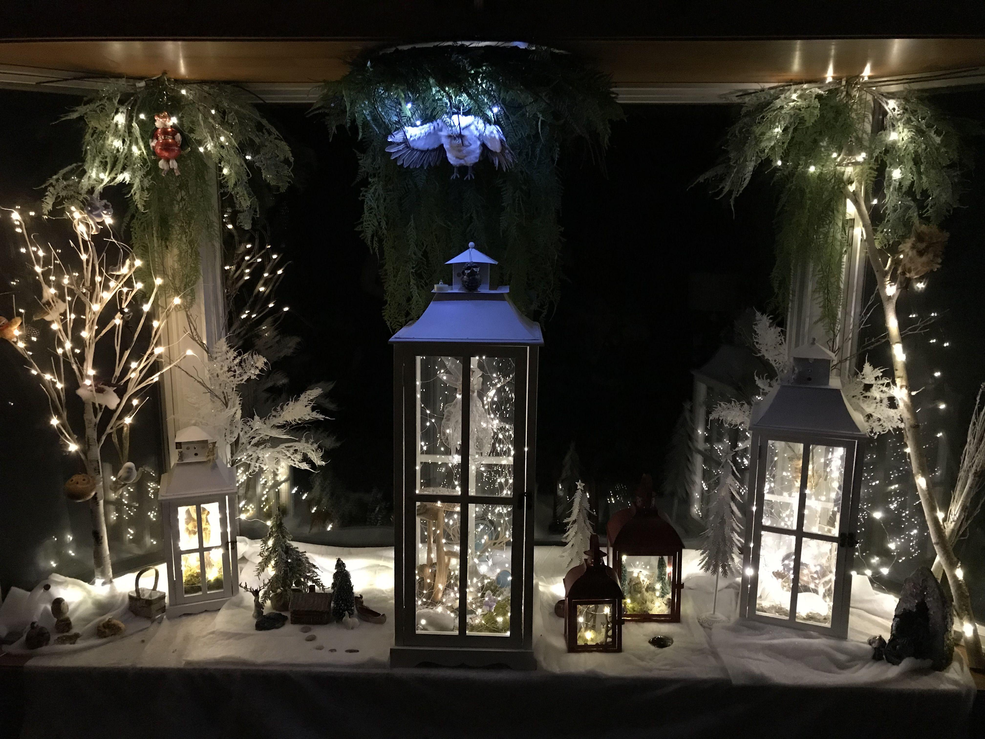 Instead of putting up a christmas tree I created a Christmas Fairy