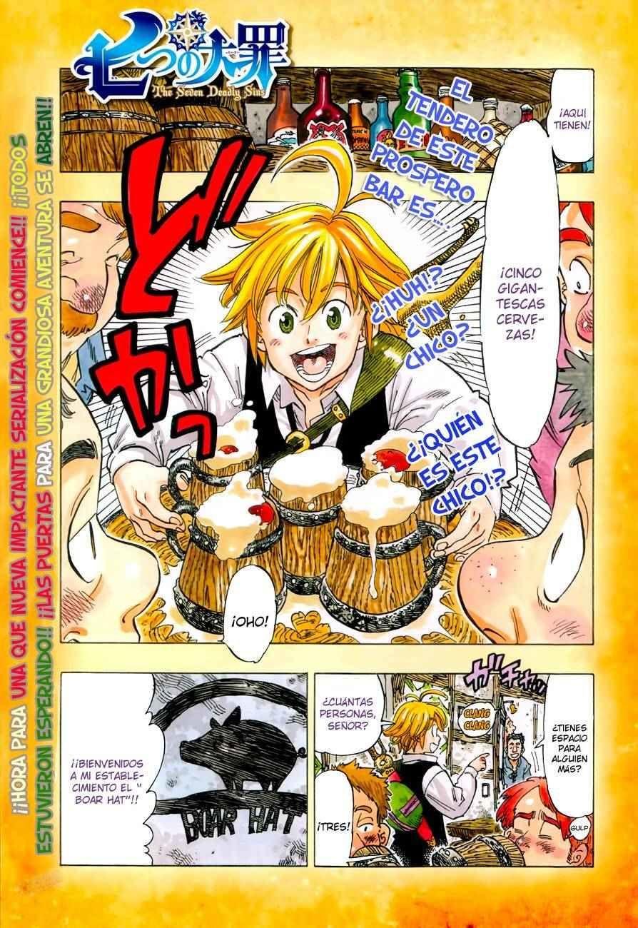 Nanatsu no Taizai Capítulo 1 por MasterPiece Scans en