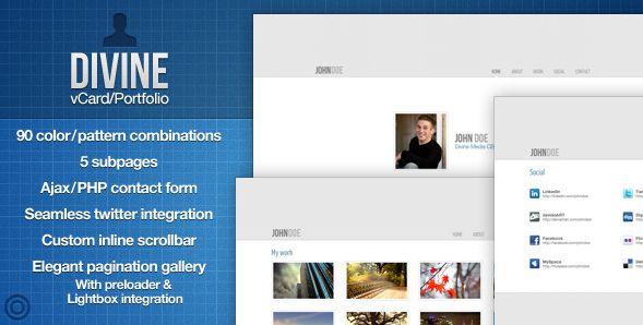 divine-ajax-contact-form | WordPress | Pinterest