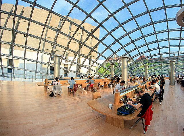 Resultado de imagen para Biblioteca Joe and Rika Mansueto, Universidad de Chicago, EE.UU.