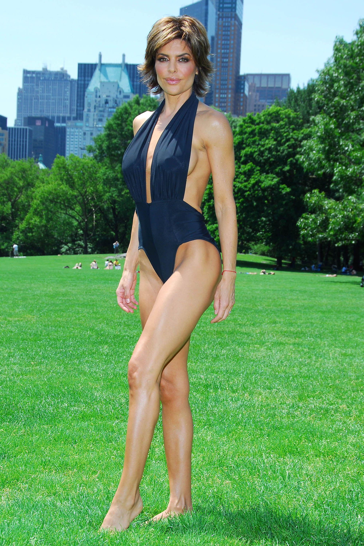 Lisa Rinna: Mit 49 eine sexy Strand-Schönheit