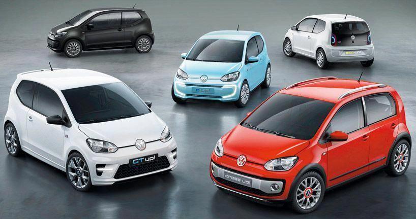 Alongside The Official Debut Of The Volkswagen Up At Frankfurt