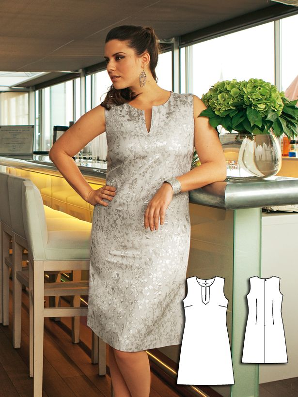 Hair and Makeup: 9 Plus Size Sewing Patterns for Women | Shiftkleid ...