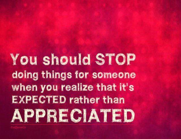 lack of appreciation quotes appreciation quote