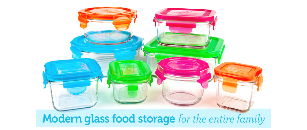 Baby food containers-tempered glass aka drop-proof chemical free microwave and sterilizer friendly aka high heat resistaint and it comes in baby-friendly ...  sc 1 st  Pinterest & Glass Baby Containers. Abailable in several shapes and sizes from ...