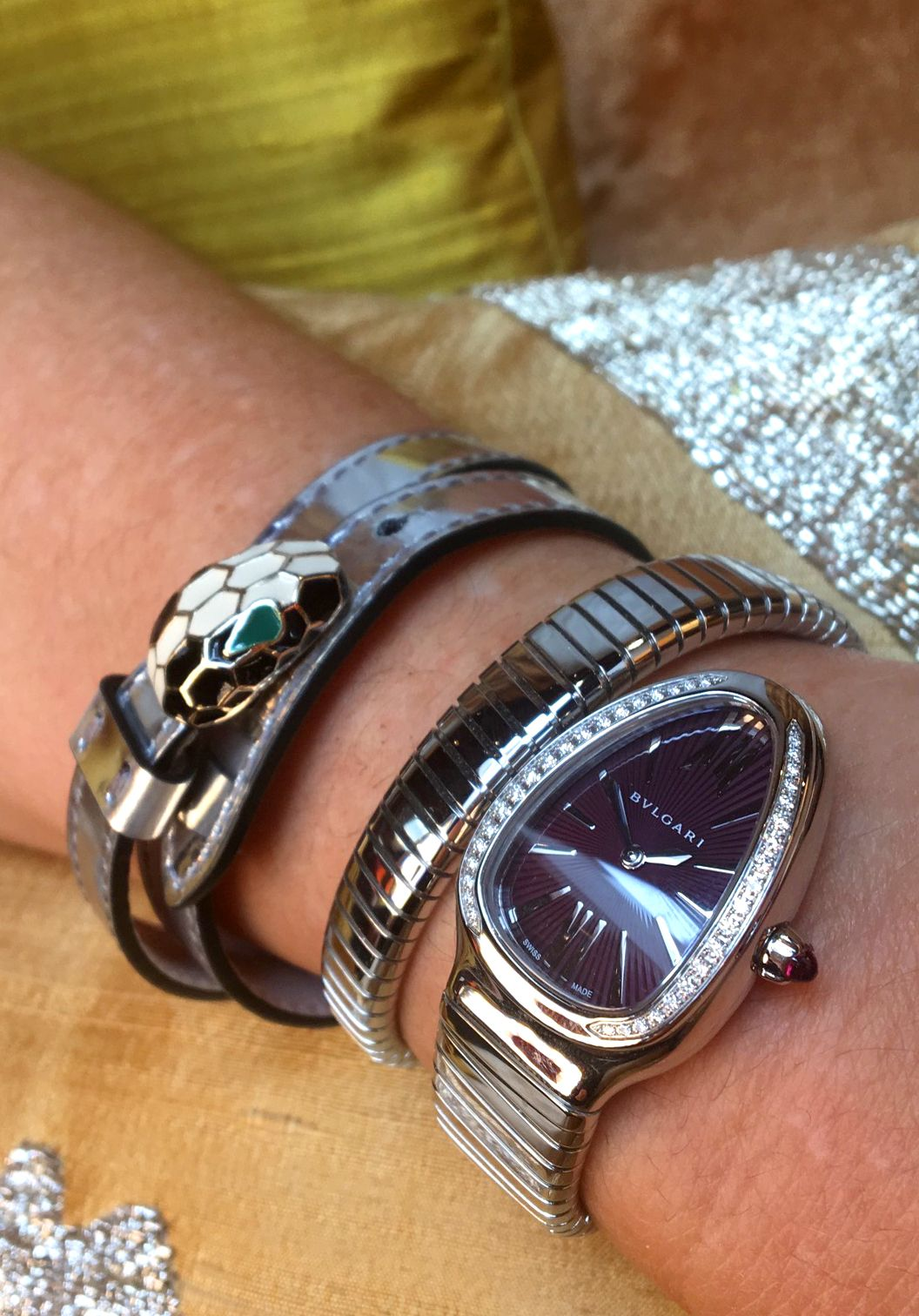 Pin By Har Dev On Watches Fancy Watches Bvlgari
