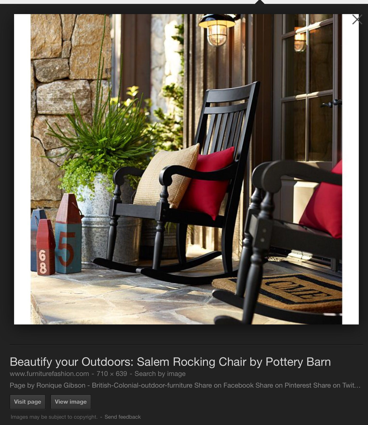 Pin By Cassandra Johnston On Decorating Outdoor Space Rocking Chair Porch Porch Furniture House With Porch