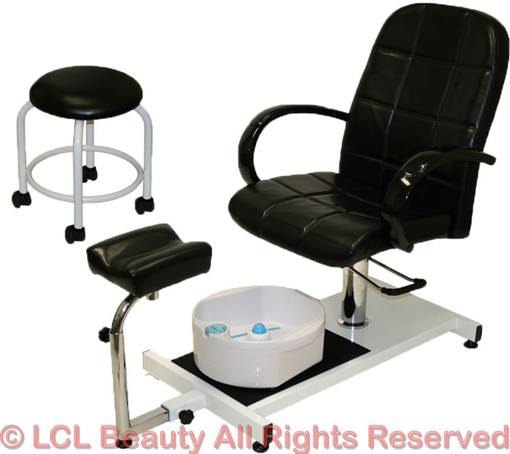 Pedicure Unit Station Hydraulic Chair Mage Foot Spa Beauty Salon Equipment