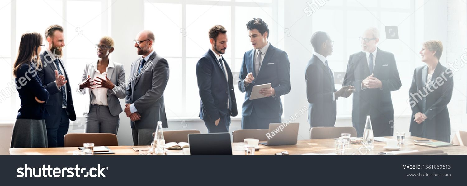 Diverse Business People In A Meeting Ad Sponsored Business