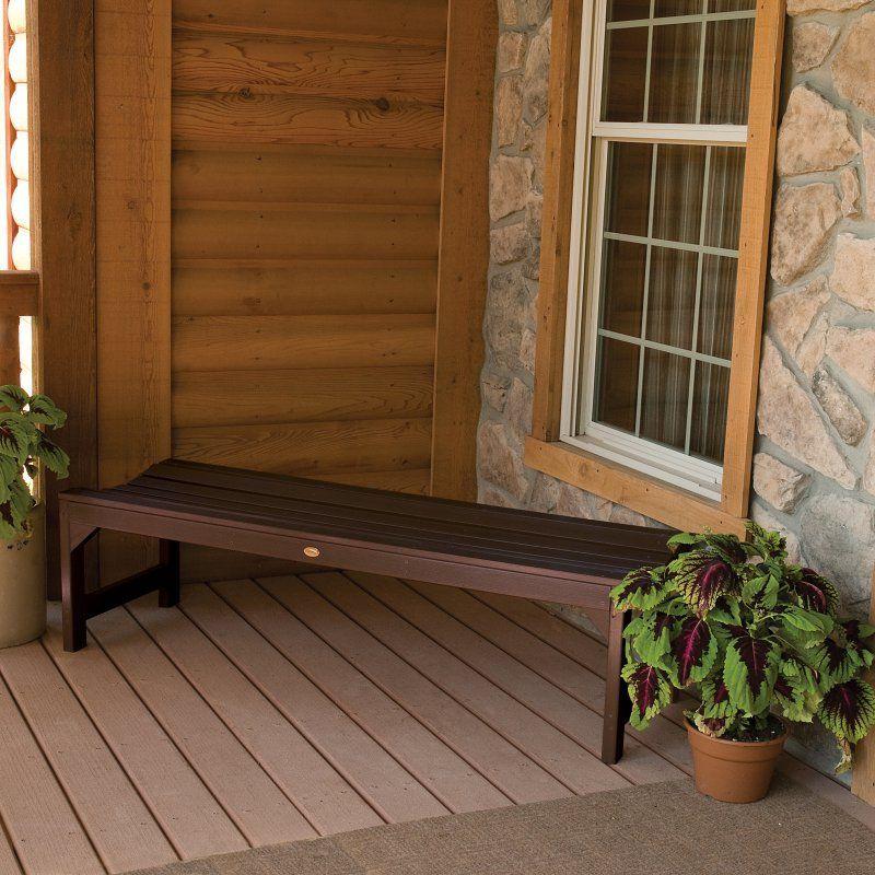 Outdoor highwood® Lehigh Backless Bench - AD-BENN2-ACE