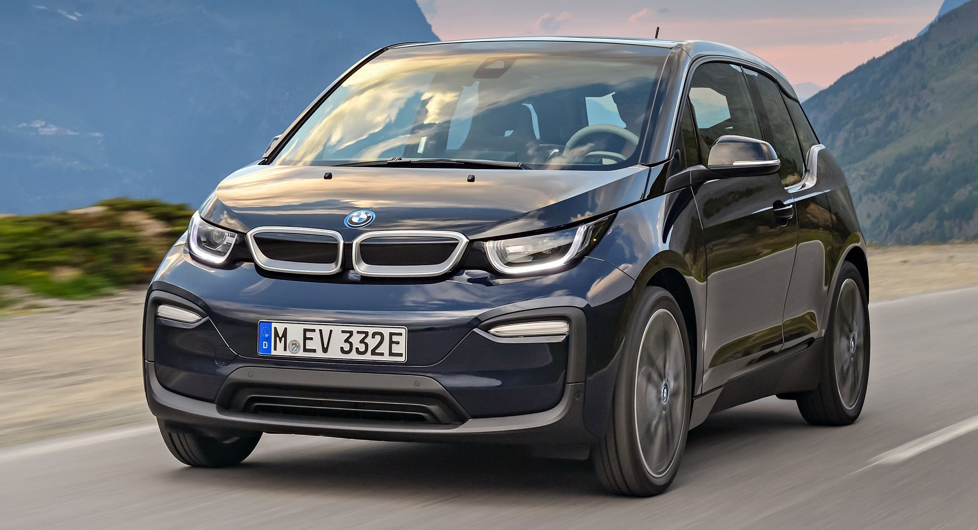 You Can Lease A Bmw I3 In The U S For As Little As 112 Per Month