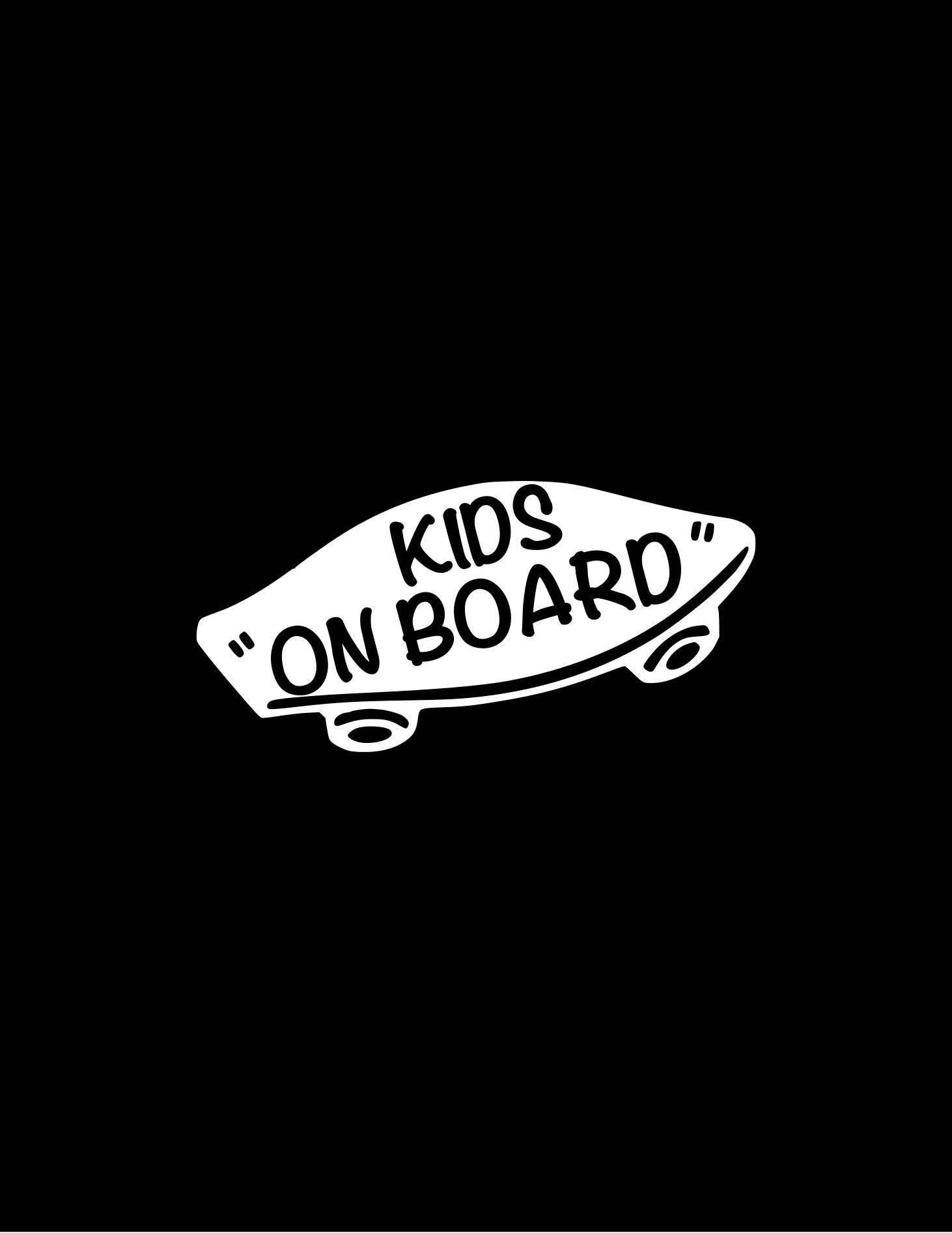 Kids On Board Skateboarding Decal Kids On Boards Skateboard Sticker Baby On Board Skateboarding Kids Car Decal Kids Skateboard Stickers Bumper Stickers Decals [ 1892 x 1462 Pixel ]