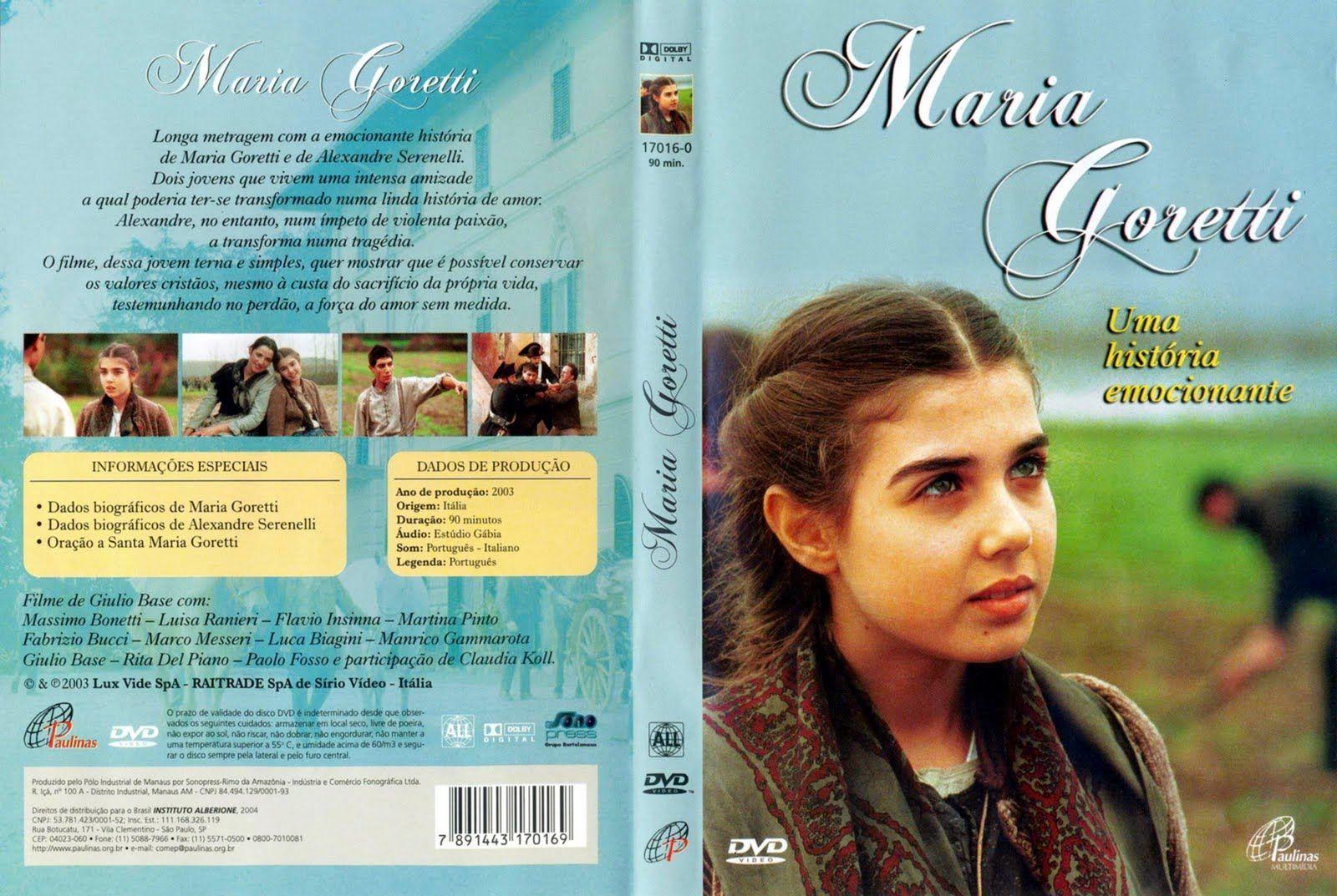 Maria Goretti Uma Historia Emocionante Filmes Religiosos Filmes Catolicos Filmes