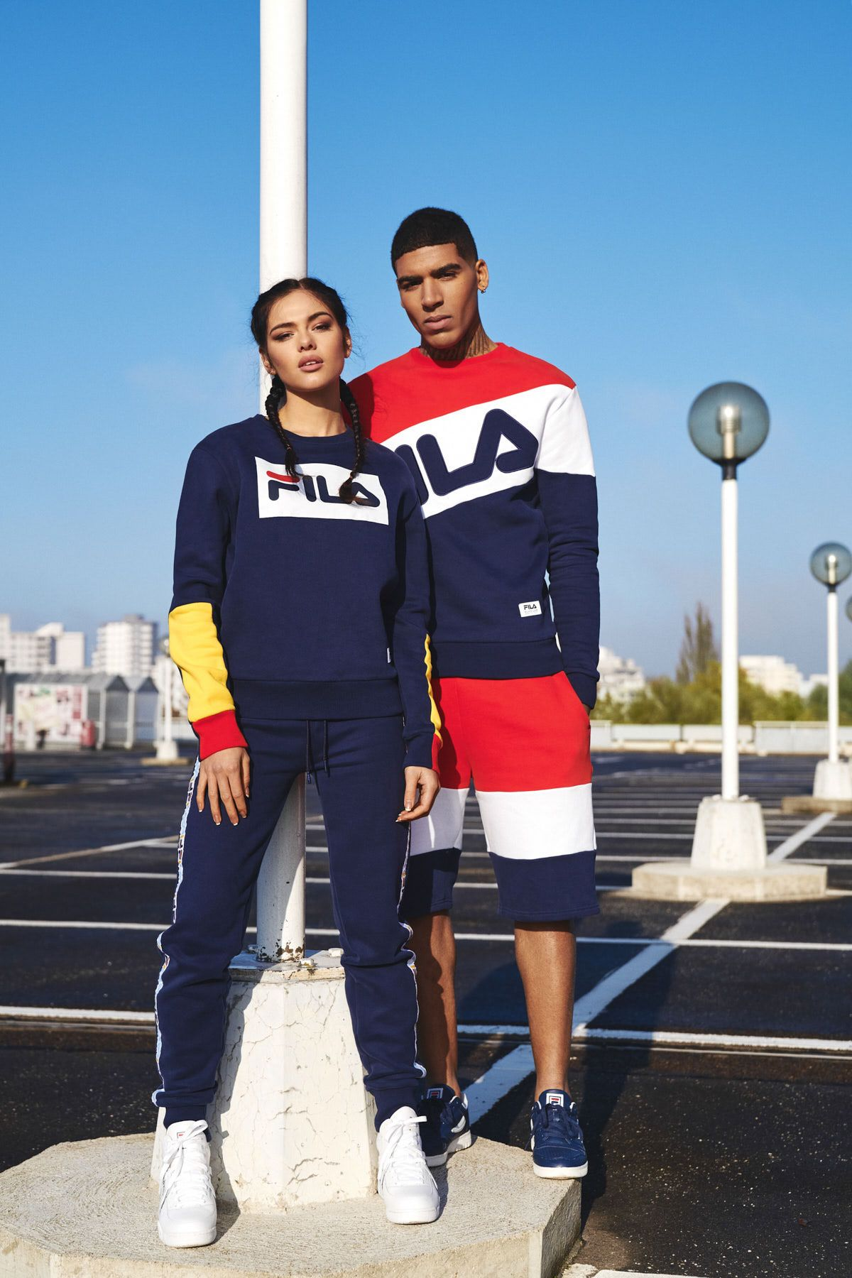 the latest a41ac 1b89a FILA new heritage collection SS2017 campaign on Behance Fila Outfit, Shoes  Nike Adidas, Gucci